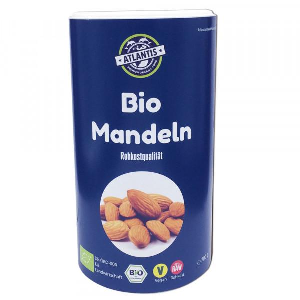 Bio Mandeln 700g Dose Rohkost