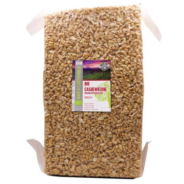 Bio Cashewbruch Rohkost 22,68kg Vorteils-Packung