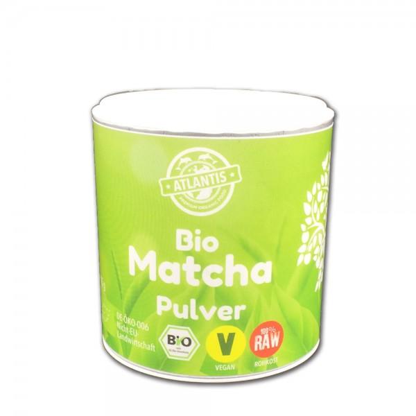 Bio Matcha Tee 75g Dose - Rohkost