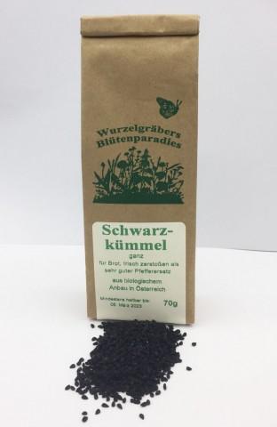 Schwarzkümmel - 70g kbA bio - ganze Früchte