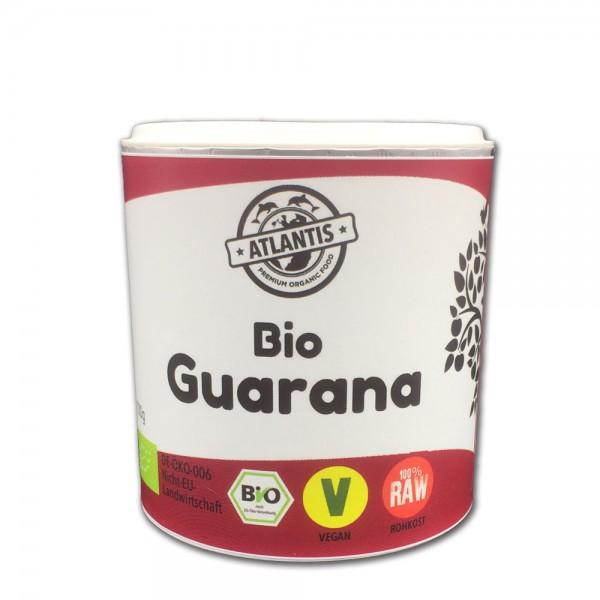 Bio Guarana Pulver 100g Dose - Rohkost