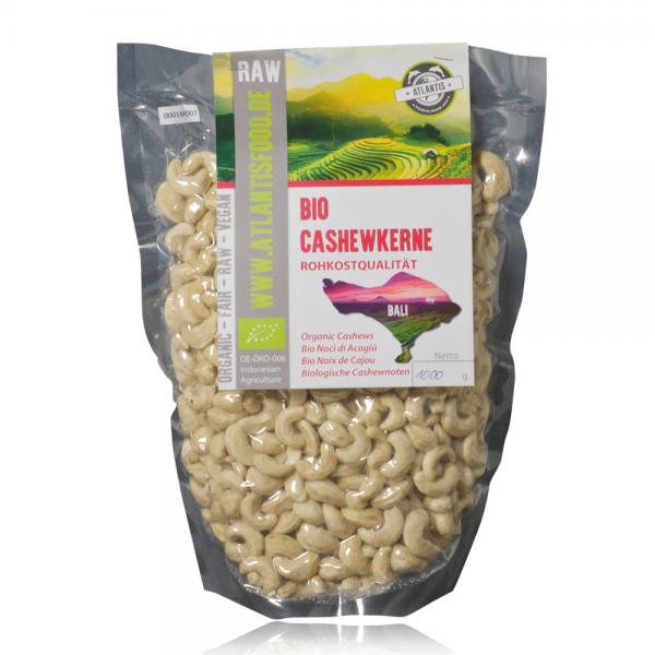 Bio Cashewkerne 1kg - Rohkost
