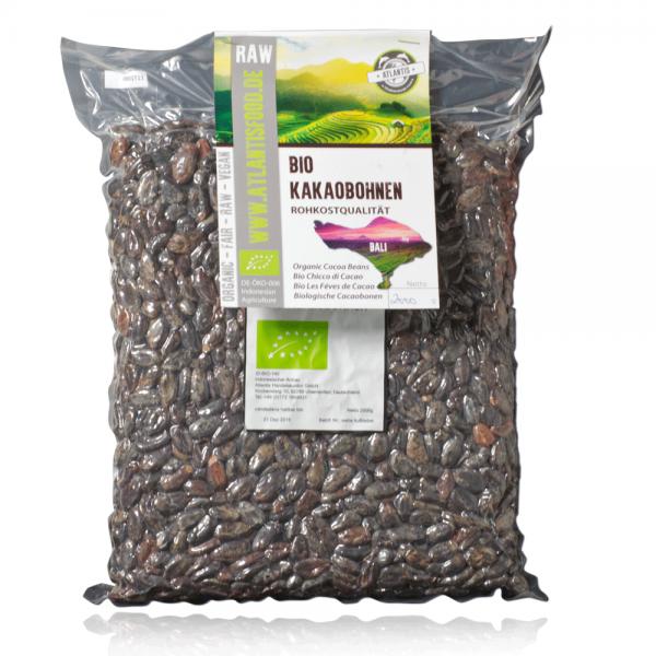Bio Kakaobohnen 2kg - Rohkost