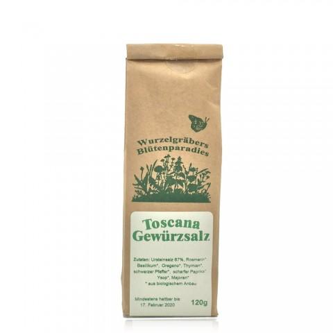 Toscana Gewürzsalz - 120g kbA bio - 33% Kräuter