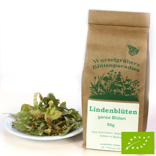 Lindenblüten – kbA bio – ganz