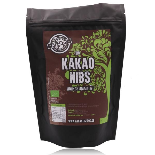 Bio Kakao Nibs 250g - Rohkost - Kakaonibs