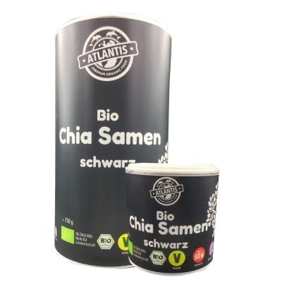 Chia Samen schwarz Bio - RAW